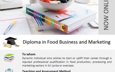 Calling Applications for Diploma in Food Business & Marketing – Apply Now