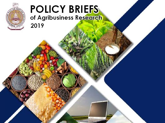 Policy Briefs of Agribusiness Research