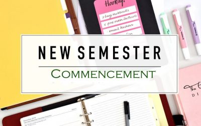 Commencement of New Semester