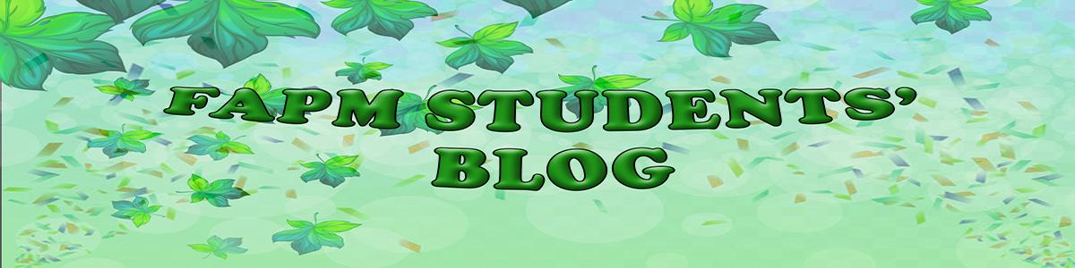Students' Blog Banner Image